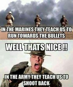 """[""""look at all that existentialism"""" -M. Marshall]: Random military memes I've got saved on my phone Military Jokes, Army Humor, Army Memes, Marine Humor, Gun Humor, Police Humor, Army Life, Military Life, Military Style"""