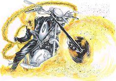Ghost Rider by Rafa Sandoval *