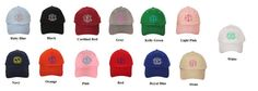 Custom Made Monogrammed Hats  FREE by KellisBoutiqueanMore on Etsy, $15.00...hint hint...a little christmas