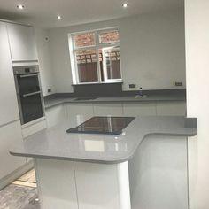 Grigio Medio Stella - Bedfordshire - Rock and Co Granite Ltd Stella, Granite, Color Schemes, Kitchen Design, Layout, Home Decor, R Color Palette, Cuisine Design, Decoration Home