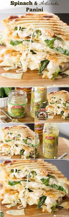 Spinach & Artichoke Panini