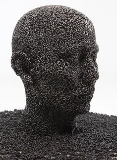 Seo Young Deok – Chain Sculptures | Read more @ http://www.collater.al/?p=30798
