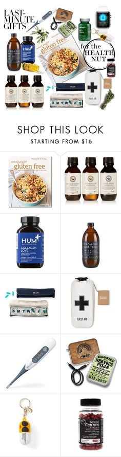 """""""For the health nut..."""" by queenofsienna ❤ liked on Polyvore featuring beauty, Williams-Sonoma, The Beauty Chef, Hum Nutrition, Mark & Graham, Izola, Alice + Olivia, The BrowGal, contestentry and polyPresents"""