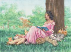Juliet Mendivil - Illustrator and Painter   Watercolors and Gouache