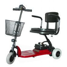 Rider Echo 3 Wheel Mobility Scooter Red