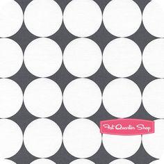gray polka dots