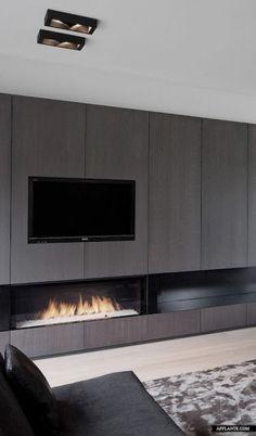 De beste tips voor de kachel tv combinatie in de woonkamer. Hoe combineer je de kachel en tv in de zithoek van de woonkamer? Tips en ideeën bij MakeOver.nl