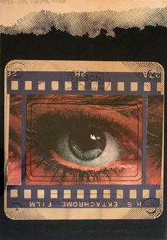 Joe Tilson print Clip O Matic Eye for sale, 1969