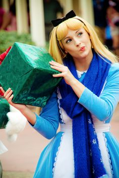 Cosplay, Princesses Disney, Alice au pays des merveilles, Alice