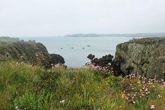 Baie de Béninou un jour de pluie, Ouessant, Finistère, Bretagne. (c) Marie Bambelle. Aucune utilisation sans mon accord préalable et sans mention.