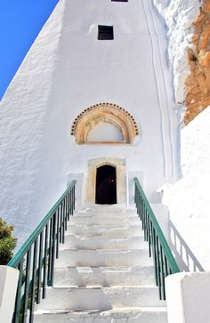 Monastery of Panagia Hozoviotissa, Amorgos island, Greece Places Around The World, Oh The Places You'll Go, Places To Travel, Places To Visit, Around The Worlds, Albania, Greece Islands, Greece Travel, Bulgaria