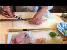 Tsukiji Masamoto Takohiki: Slicing Sashimi with Sushi Chef Ichimura of B...