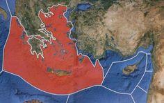 Ερευνητικό: Al-Jazeera shows Greek island belonging to Turkey . Al Jazeera, Greek Islands, Turkey, Blog, Painting, Uranium, Seville, News, Portal