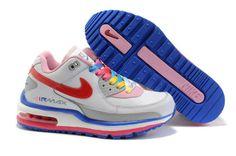new style 8c263 dc947 Femme Nike Air Max LTD Blanc Bleu Rouge Nike Air Max Ltd, Nike