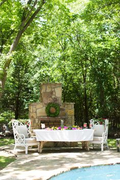 To start summer off right we've joined an amazing group of ladies for a summer tablescape tour. - Farmhouse Table - Farmhouse Decor - White Rattan Chairs - Summer Decor - Home Decor - Summer Tablescape - Outdoor Dining - Outdoor Decor