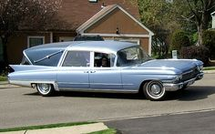 1960 Cadillac Superior Crown Royale Landaulet hearse