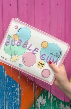 ASOS | Bubblegum clutch which makes every outfit fun!