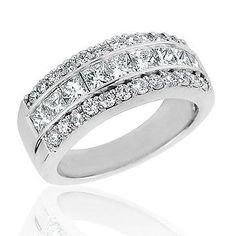 Diamond Anniversary Band 2ctw | Shop REEDS Jewelers