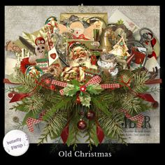 """Scrapbooking im Rollinest: """"OLD CHRISTMAS"""" by ButterflyDsign"""