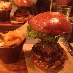 Jamie Oliver's Revolution burger