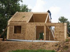 strobalen huis isoleren stro dak
