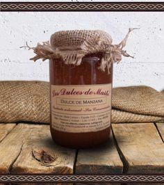 Los Dulces de Maite Dulce de Manzana Producto artesanal, sin conservantes. Peso Neto: 400 g. Industria Argentina