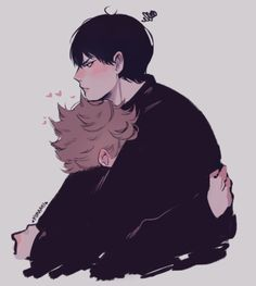 Find images and videos about haikyuu, kageyama tobio and hinata shouyou on We Heart It - the app to get lost in what you love. Haikyuu Kageyama, Haikyuu Fanart, Haikyuu Anime, Kenma, Oikawa, Haikyuu Volleyball, Volleyball Anime, Daisuga, Kuroken