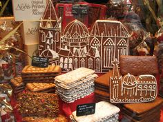 Aachener Printen - Aachen gingerbread-type cookie.  Aachen, Germany