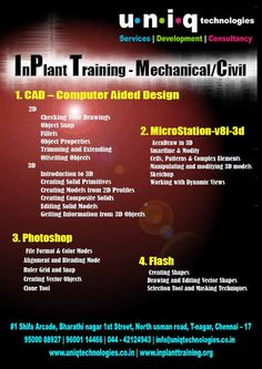 ... offers best inplant training in chennai for Civil Engineering students