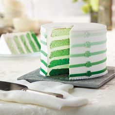Wilton St. Patrick's Day Ombré 5-Layer Cake