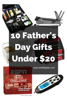10 Father's Day Gifts Under $20