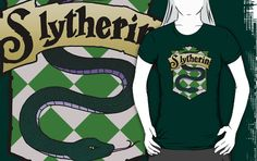 """""""Slytherin Crest"""" T-Shirts & Hoodies by AriesNamarie 