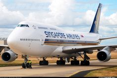 Singapore Airlines Boeing 747-412 - all passenger 747s now retired from fleet