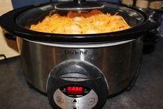 Cheesy Chicken, Bacon and Tater Tot Crock Pot Bake