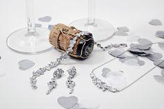 Celebrate your special day with some Swarovski sparkle #loveargento #jewellery #weddingjewellery #wedding #bride #bridal #celebrate #swarovski #sparkle #bling #classic