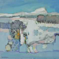 Early Snow by Modern Contemporary Artist Charles ANDERSON DA, RSW, Hon FRIAS