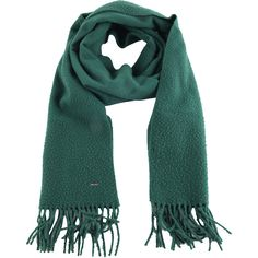 Diesel SPHILA Scarf (200 BRL) ❤ liked on Polyvore featuring accessories, scarves, emerald green, other accessories, women and diesel scarves