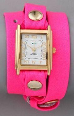 La Mer wraparound watch