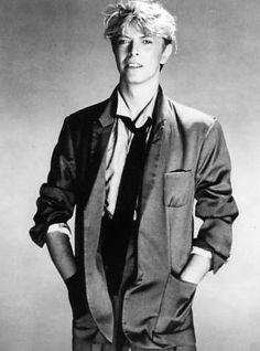 David Bowie by Greg Gorman, 1983 David Jones, David Bowie Born, The Nobodies, The Thin White Duke, Goblin King, Ziggy Stardust, Rock Legends, Jimi Hendrix, Rock N Roll