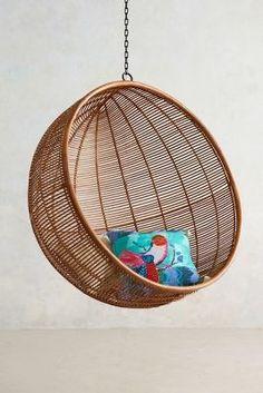 Anthropologie Rattan Hanging Chair #anthroregistry