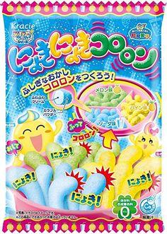 New Release 2016 Nyoki Nyoki Kororon Soda&Melon&Pineapple Flavor DIY Gummy Candy Kit happy kitchen