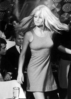 "Brigitte Bardot en ""Two Weeks in September"" (À coeur joie), 1967"