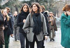 Emmanuelle Alt + Capucine Safyurtlu via style.com
