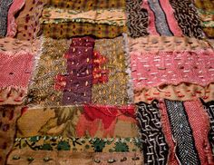Cloth weaving - stitching started 10-13-10 by Morna Crites-Moore, via Flickr