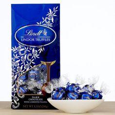 One of my favorite discoveries at WorldMarket.com: Lindt Dark Chocolate Lindor Truffles