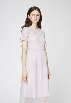 mint&berry Sukienka letnia - lilac - Zalando.pl