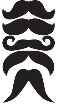 Mustache photo prop templates #Cake