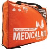 Adventure Medical Kits has created the Sportsman series of medical kits. Designed for commercial or recreational hunters and fishermen on trips up to 14 days long, the Grizzly contains supplies to treat the most common injuries, including penetration wounds from bullets or arrows, fish hook removal, splinting fractures, and stopping severe bleeding. Inside you will find a removable and waterproof Field Trauma Pak containing QuikClot, Swat-T tourniquet and a host of other supplies. ±$125.00