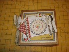 A Creative Operation: mini recipe book