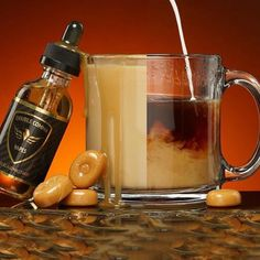Best Coffee Vape Juice  Perfect combination of caramel, coffee, and vanilla.  I cant stop vaping this